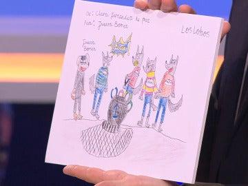 El bonito regalo de una niña a 'Los Lobos' de '¡Boom!'