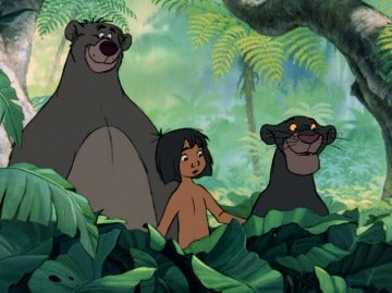 'El libro de la selva' de Disney