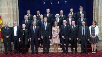 El Rey entrega los Premios Princesa de Asturias ante Rajoy y los líderes de la UE