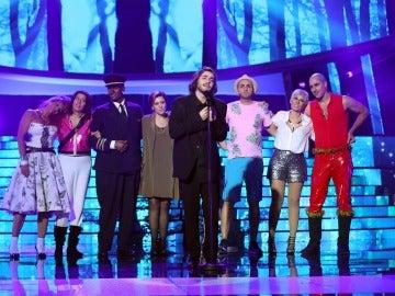 El doble de Salvador Sobral, Miquel Fernández, gana la cuarta gala de 'Tu cara me suena' con una actuación histórica