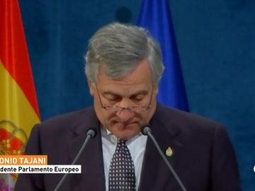 Tajani, presidente del parlamento Europeo
