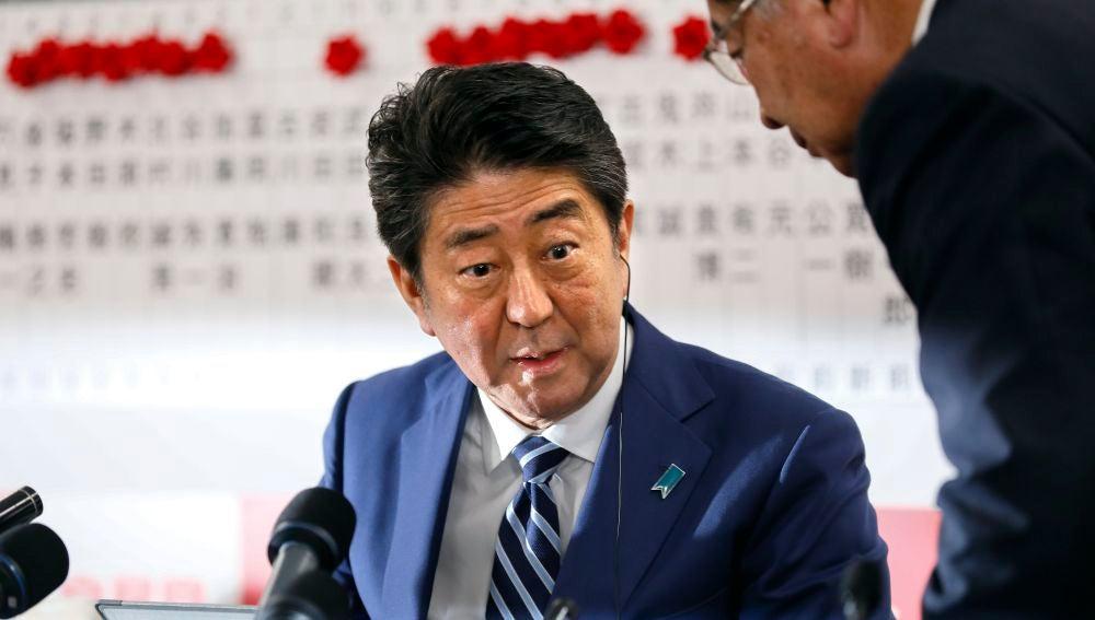 El primer ministro japonés, Abe
