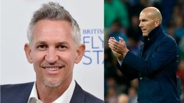 Lineker y Zidane