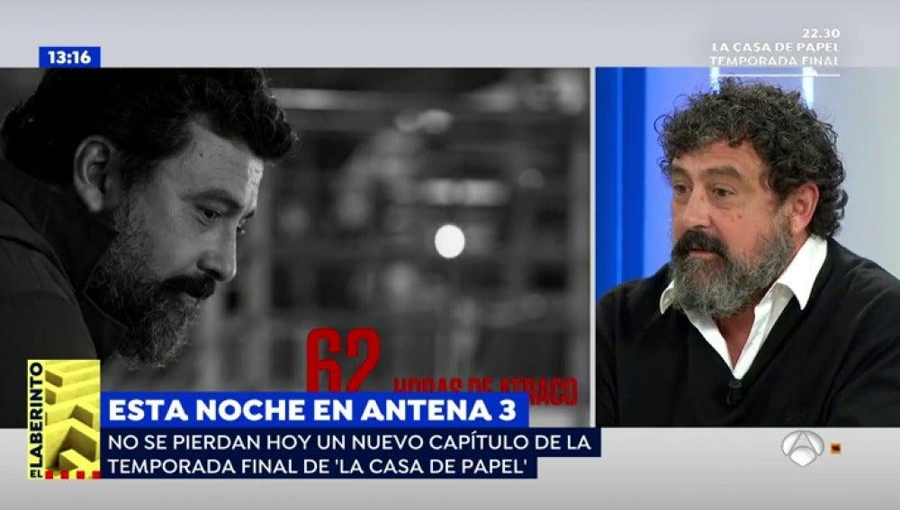 Antena 3 tv paco tous sobre el nuevo cap tulo de 39 la casa de papel 39 en este empuj n nos - La casa de papel temporada 2 capitulo 1 ...