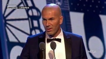 Zidane gana el premio 'The Best' a mejor entrenador del año