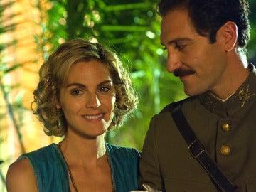 Andrés y Julia, se visten de gala para recibir a la reina