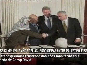 19 años después de los acuerdos de paz entre Israel y Palestina, el conflicto continúa