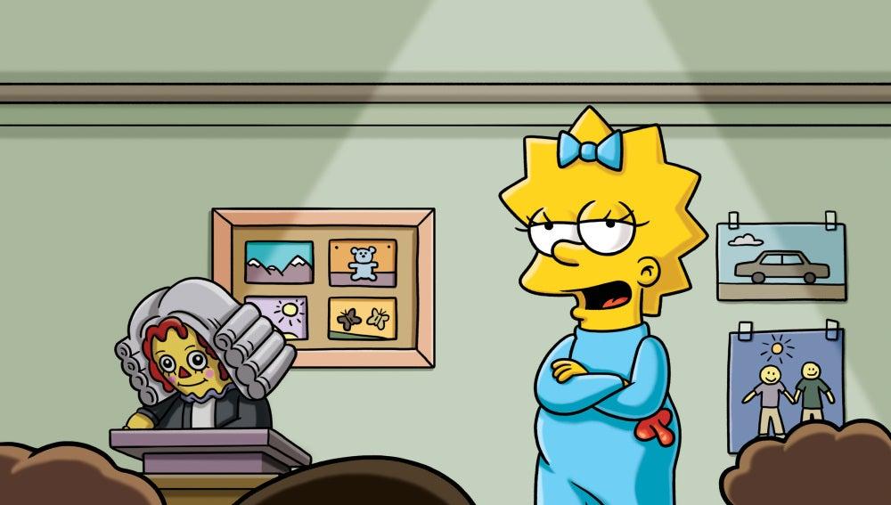 Maggie dirá sus primeras palabras en el especial de Halloween de 'Los Simpson'