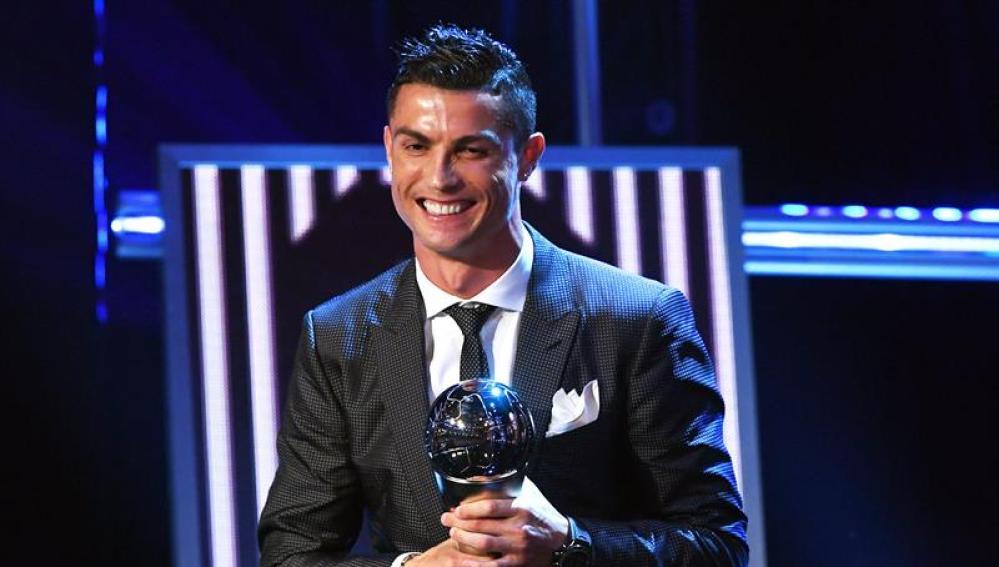 Cristiano Ronaldo nombrado mejor jugador del año 2017