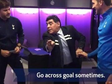 Los consejos de Maradona a Harry Kane para marcar goles