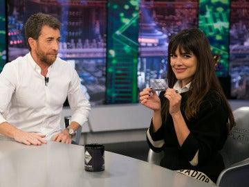 Adriana Ugarte entra al club Platino de 'El Hormiguero 3.0'