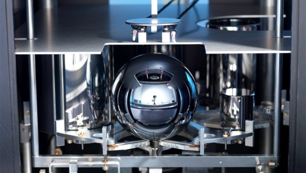 Una esfera de silicio puro se puede usar para definir una unidad de medida conocida como mol