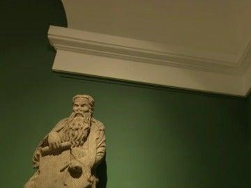 Las esculturas de Isaac y Abraham