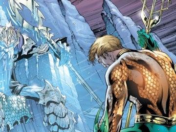 Aquaman y su padre