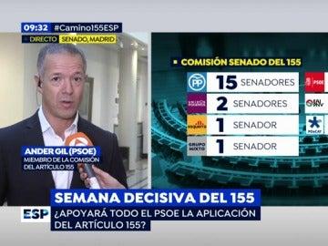 Ander Gil, senador del PSOE