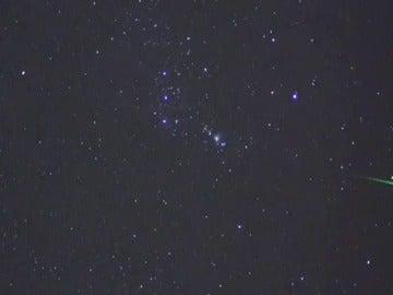 Punto máximo de Oriónidas en El Teide