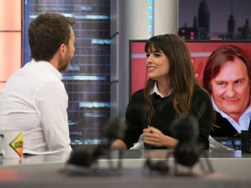 """Adriana Ugarte: """"Gérard Depardieu tiene una mirada que es universo, te gana todo el   rato"""""""