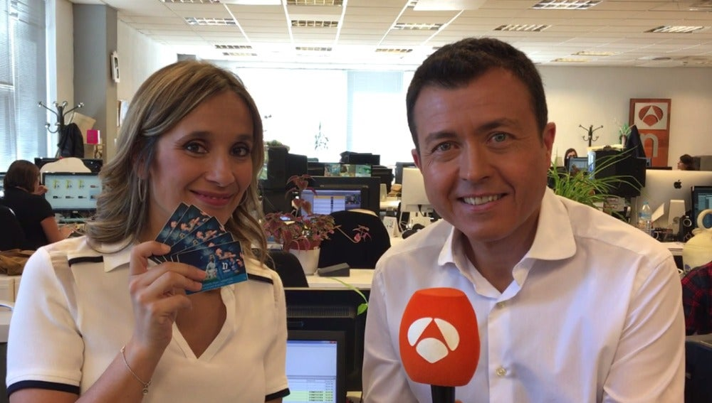 Rocío Martínez y Manu Sánchez