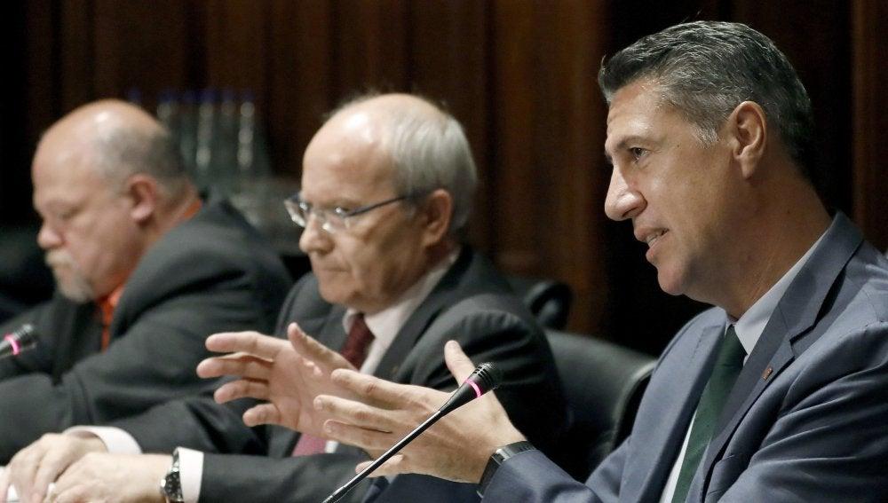 El senador y líder del PPC, Xavier García Albiol