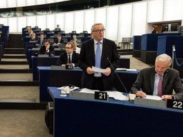 Una sesión del Parlamento Europeo en Estrasburgo