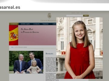 La Princesa Leonor estrena fotografía oficial con motivo de su 12 cumpleaños