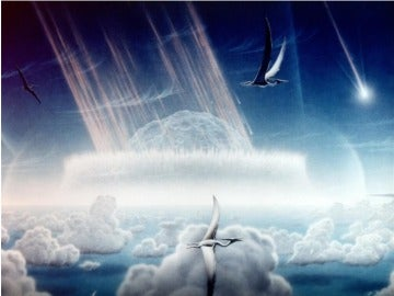 Asteroide que mató a los dinosaurios