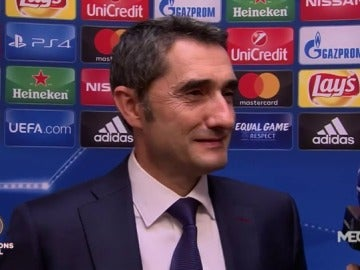 """Valverde: """"No estamos contentos, hemos tenido ocasiones y pudimos ganar bien"""""""