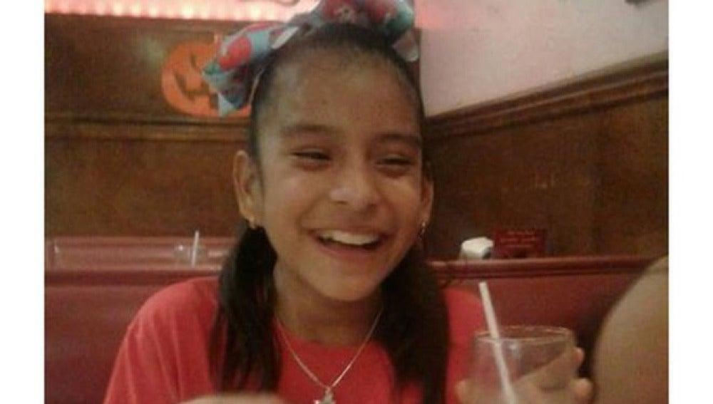 Rosa María, la niña retenida en EEUU