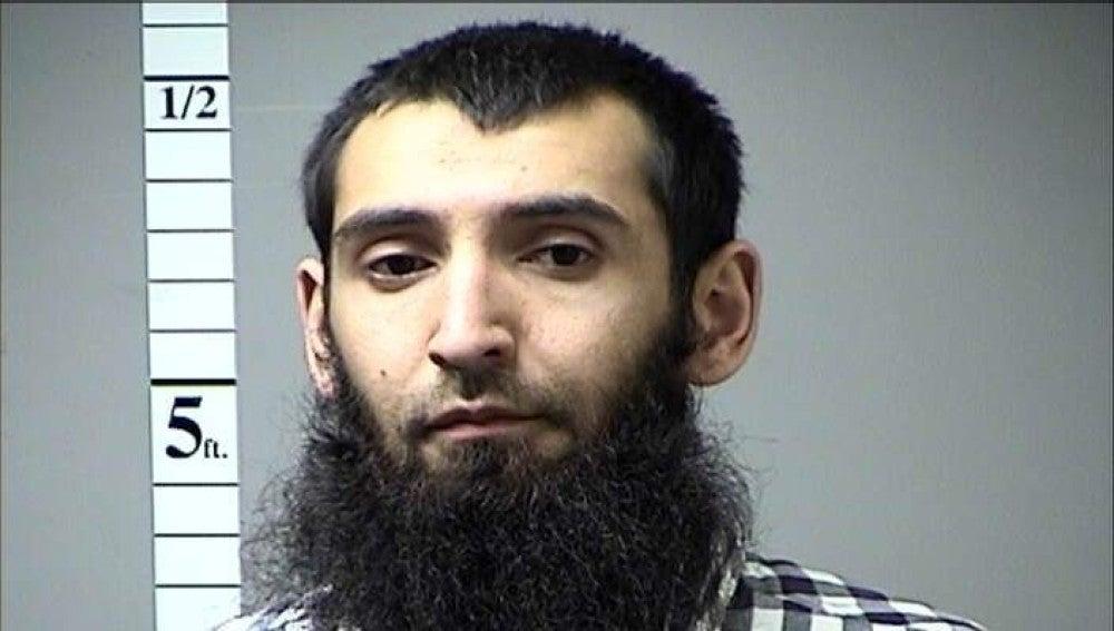 Sayfullo Saipov, presunto autor del atentado de Nueva York