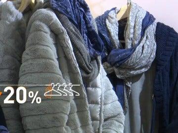 Caen las ventas de ropa de abrigo