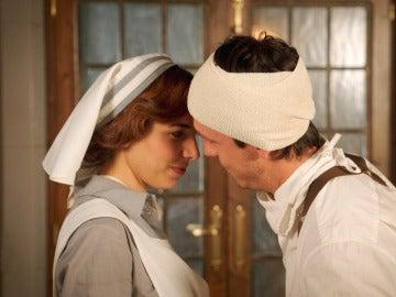 Pedro se lanza a besar a Verónica