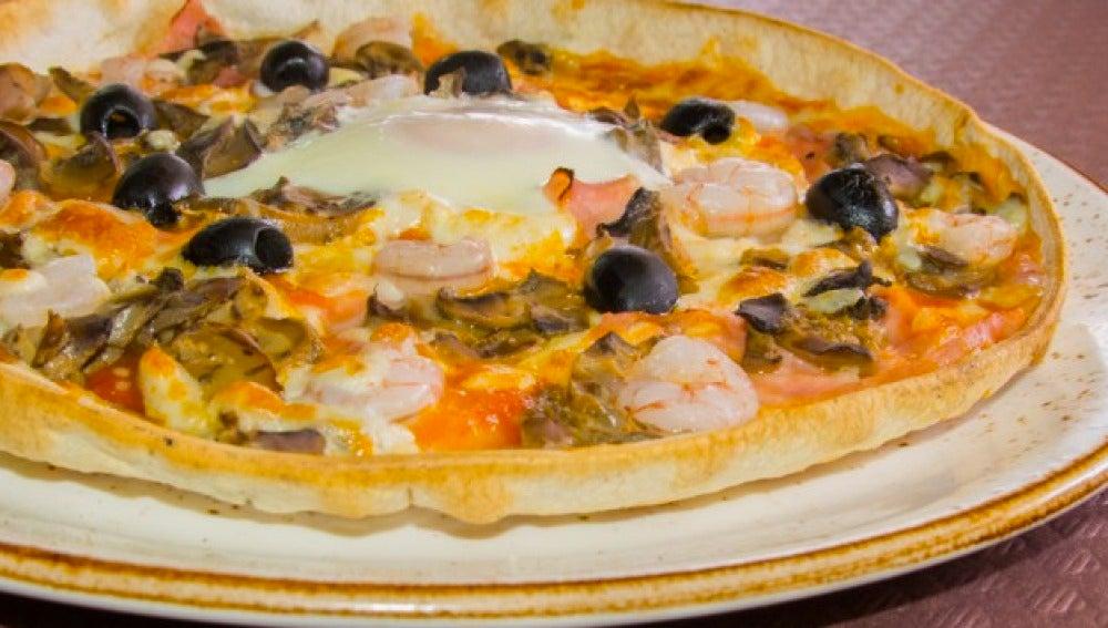 La mítica pizza de La Competencia.
