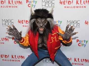 Heidi Klum se ha convertido en Michael Jackson para 'Thriller'