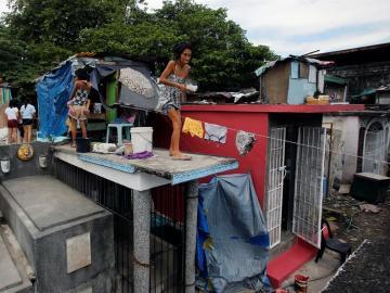 Cementerio en Manila