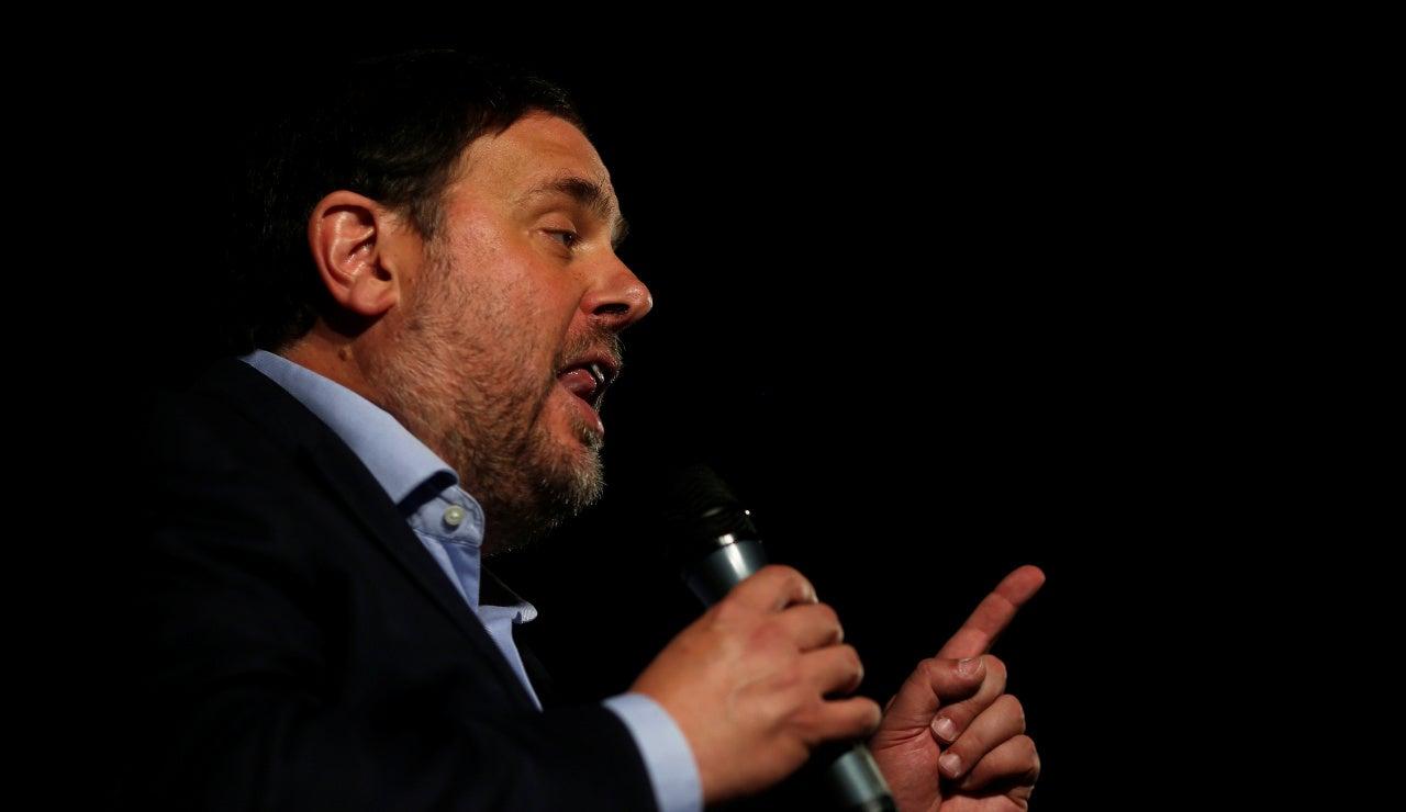 El exvicepresidente de la Generalitat, Oriol Junqueras