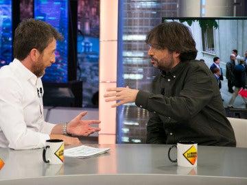"""Jordi Évole, sobre Cataluña: """"Es un problema político que hay que abordar desde la política"""""""