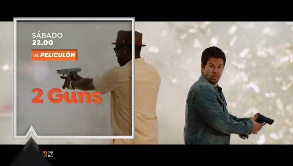 El Peliculón emite '2 Guns' con Denzel Washington