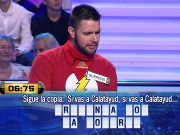 Joaquín se bate en duelo contra Gupergui, el ganador de los 100.000€