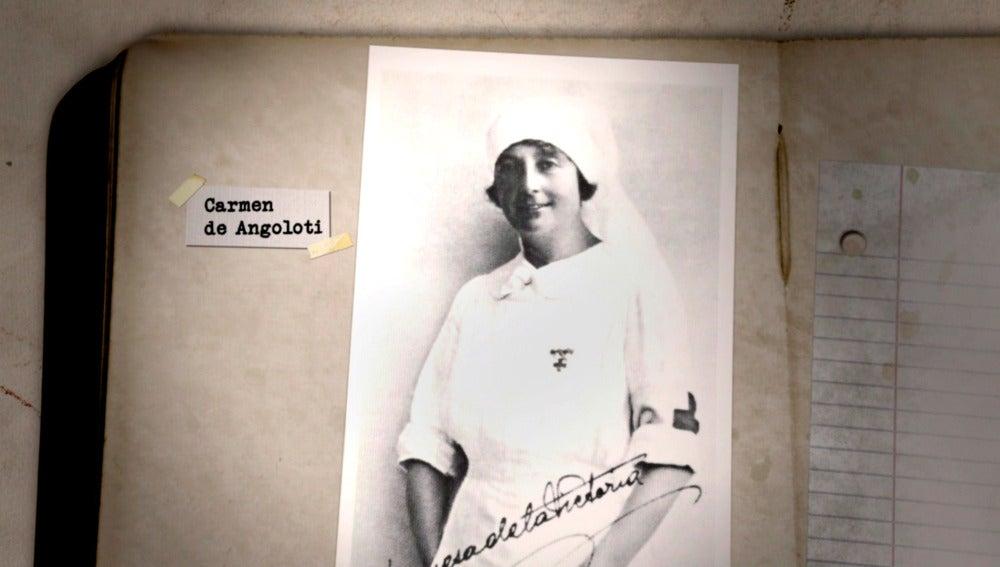 Conocemos a Carmen Angoloti de la mano de sus descendientes
