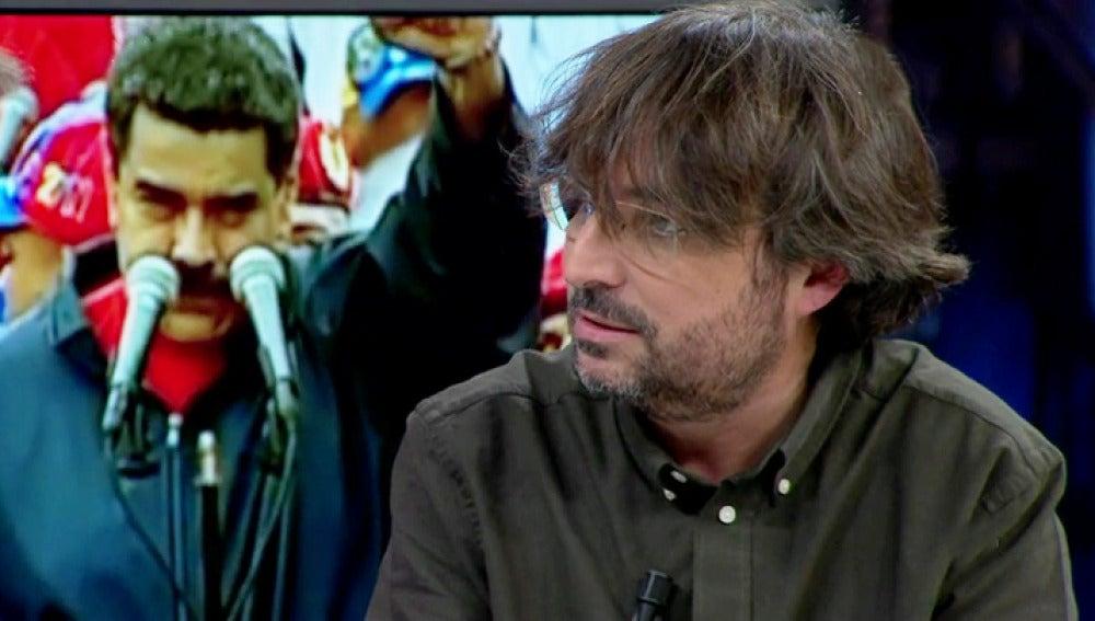 """Jordi Évole: """"Nicolás Maduro se encontró en nuestra entrevista con cosas que nunca había visto"""""""