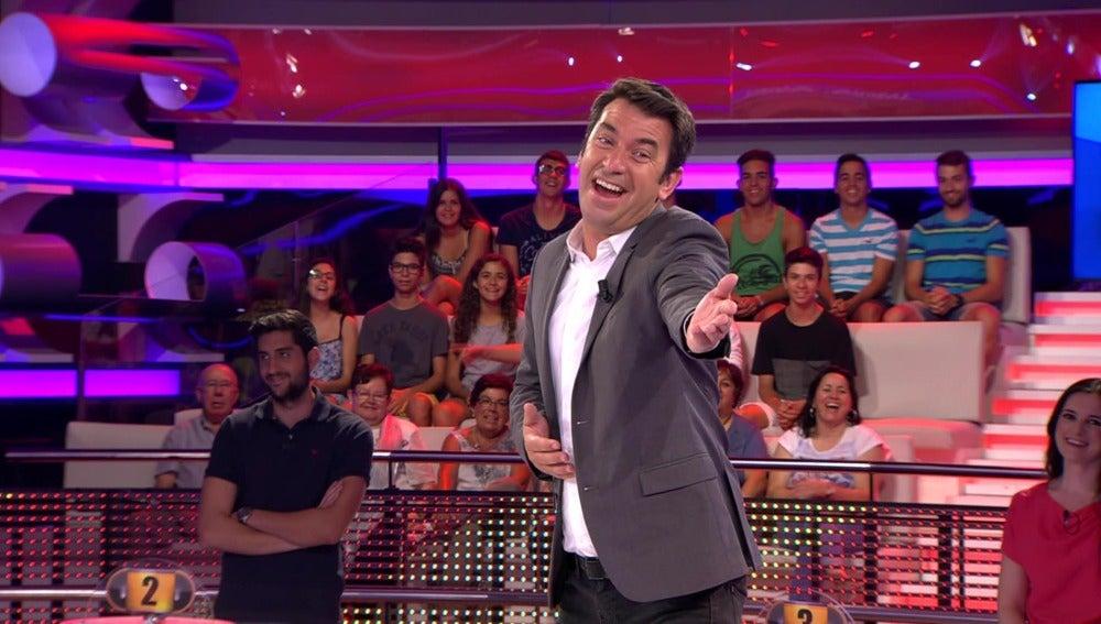 Arturo Valls se enfrenta al test definitivo del campeón de España de '¡Ahora Caigo!'