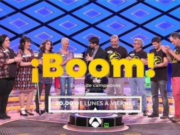'Los Lobos' y las 'Extremis' competirán en un duelo de titanes por un bote de medio millón de euros en '¡Boom!'