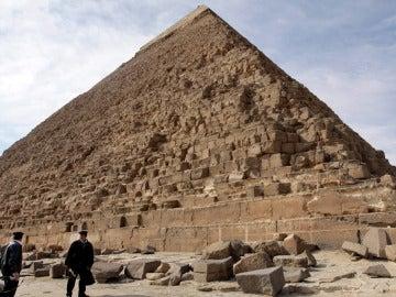 Gran Pirámide de Keops en Giza