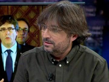 """Jordi Évole: """"No estoy de acuerdo con la vía unilateral que ha seguido el Govern de Cataluña"""""""
