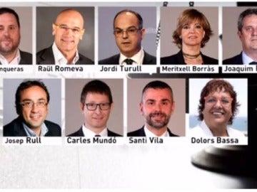 La jueza decreta prisión incondicional para Junqueras y otros siete exconsellers catalanes