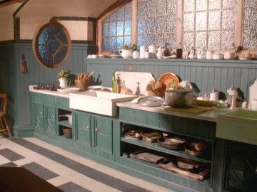 La cocina de 'Tiempos de guerra', original de 1920