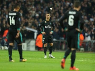 Cristiano Ronaldo, durante el partido contra el Tottenham