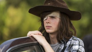 Chandler Riggs en 'The Walking Dead'