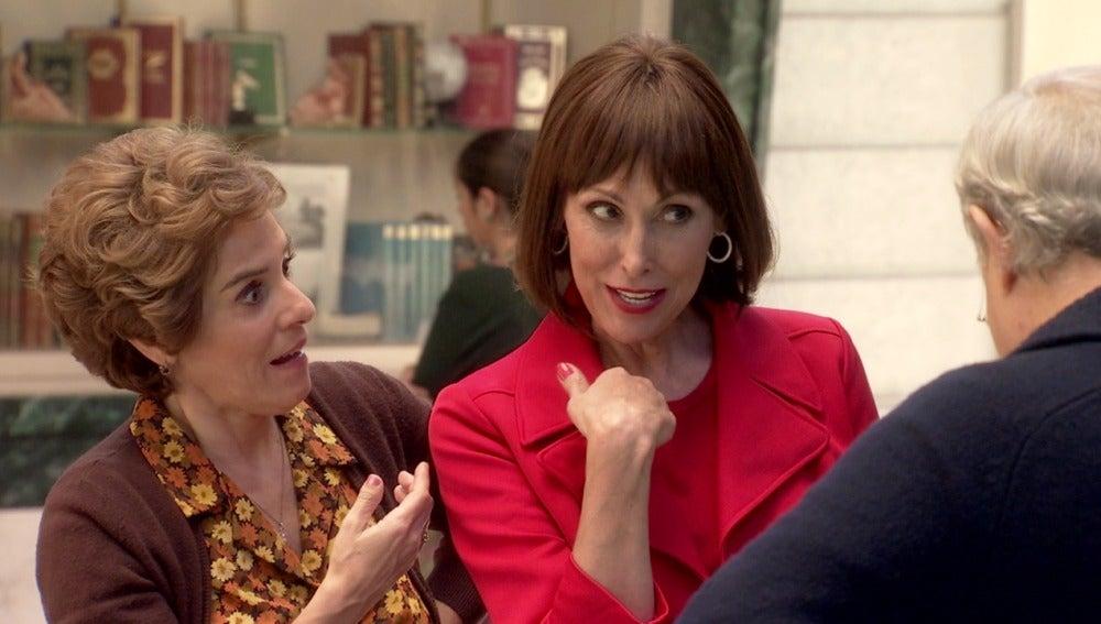 Teresa se ofrece para cantarle las cuarenta a Consuelo Miranda