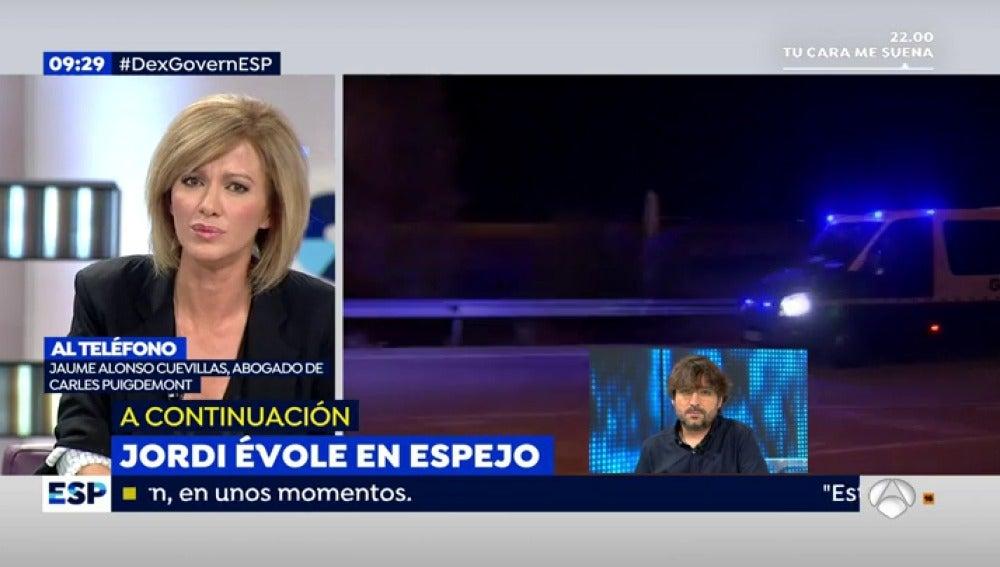 """Alonso Cuevillas, abogado de Puigdemont: """"Creo que es una resolución absolutamente injusta"""""""